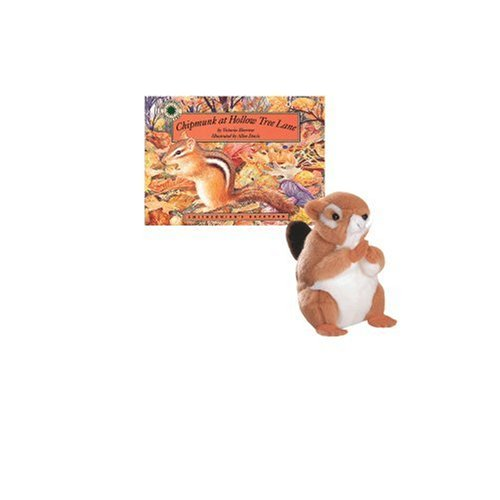 Chipmunk at Hollow Tree Lane - a Smithsonian's Backyard Book (Mini book with stuffed toy animal) (MINI BOOK AND 6