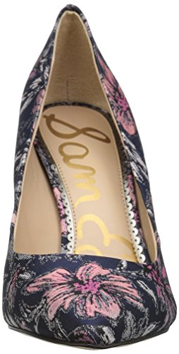 secret Multi Garden Women''s Jacquard Navy Hazel Dress Pump Edelman Sam Swq0HH