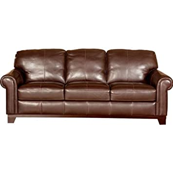Magnificent Amazon Com Cindy Crawford Home Chastain 100 Leather Sofa Unemploymentrelief Wooden Chair Designs For Living Room Unemploymentrelieforg