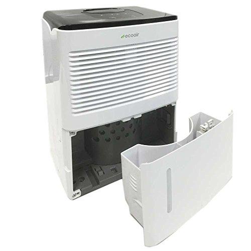 EcoAir ESSENTIAL Compact Portable Dehumidifier, 12 L