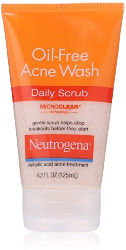 Neutrogena Oil-Free Acne Wash Daily Scrub 4.20 oz ( Pack of ()