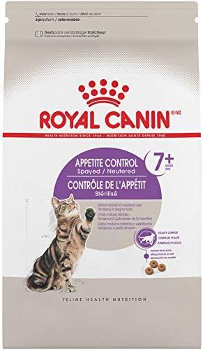 Royal Canin Spayed Neutered Appetite Control +7 Comida para Gatos, Sabor a Pollo, Tamaño Pequeño 2.7 kg 2