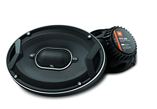 "JBL GTO939 GTO Series 6x9"" 300W 3 Way Black Car Coaxial Audio Speakers Stereo"