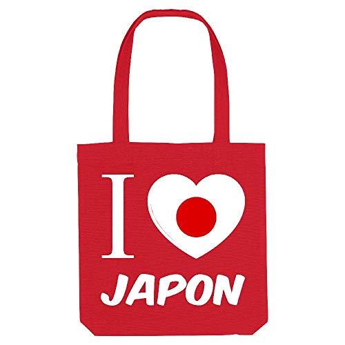 Tote Jaime Coton kase le Gs 1 japon Rouge My qZBaF5