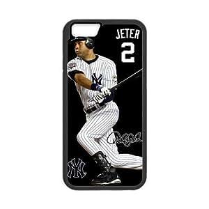 "iPhone 6 4.7""Cases with MLB New York Yankees star Derek Jeter (Laser Technology) hjbrhga1544 by ruishername"