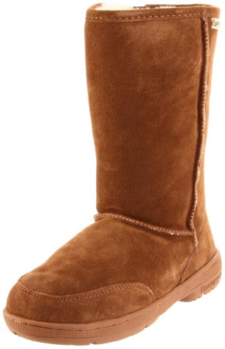 BEARPAW Women's Meadow Boot, Hickory, 5 M - Classic Boot 14 Shearling Inch