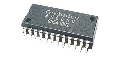 Amazon.com: [2 Sets] Technics an6680 chip IC Panasonic sh ...