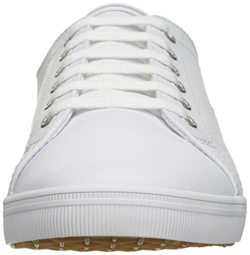 Fred Perry Kingston Lederen Sneaker Wit