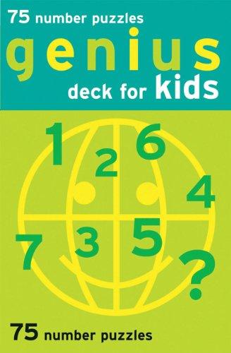 (Genius Deck For Kids: 75 Number Puzzles (Genius Decks))