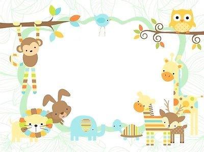 sdore animales de la selva bebé ducha - Boy fiesta de ...