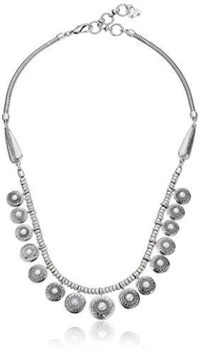 Lucky Brand Pearl Collar Necklace, 18