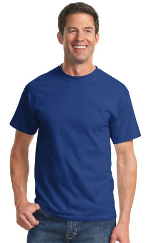 Port & Company Men's Essential T Shirt XL Deep Marine