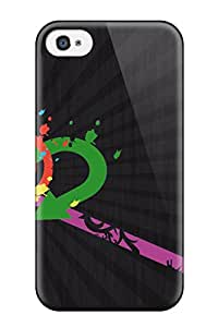 Iphone 4/4s Case Cover With Shock Absorbent Protective KdEJKFD2948qgbph Case