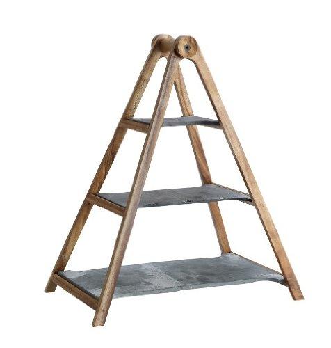 4 piezas, madera, pizarra Villeroy /& Boch Artesano Original marr/ón Bandeja de pisos