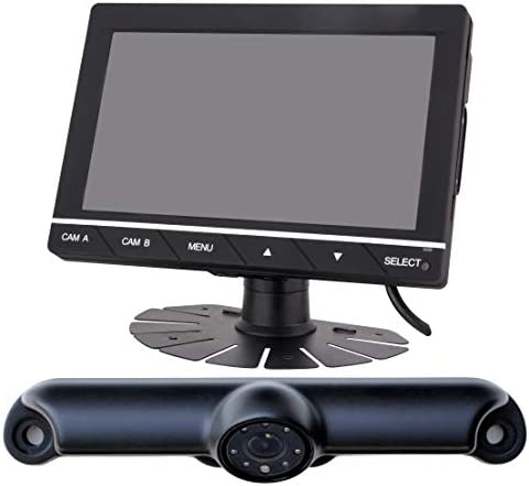QuickVu Digital Wireless Backup Camera System with 7 Color Monitor