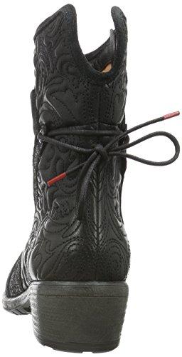 Think Liab, Zapatillas de Estar por Casa para Mujer Negro - negro (SZ/KOMBI 09)