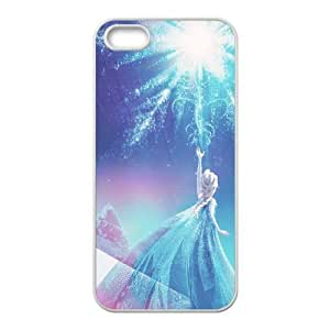 iPhone 5 5s Cell Phone Case White Disney Frozen JSK764393
