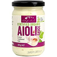 Chef's Choice Organic Aioli Sauce 185 g