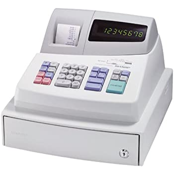 amazon com sharp xe a101 high contrast led cash register rh amazon com sharp cash register xe-a101 user manual Sharp Cash Register ManualDownload