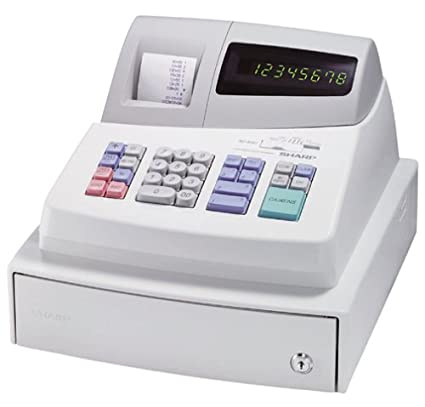 amazon com sharp xe a101 high contrast led cash register rh amazon com sharp xe a101 manual free sharp xe-a101 manual pdf