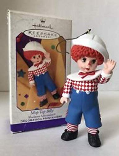 QEO8337 Mop Top Billy Madame Alexander 1999 Hallmark Keepsake Ornament
