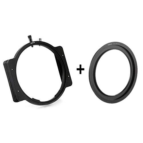 Selens Professional Metal Versatile Square Modular Filter Holder + Step-Up Ring Adapter 77-86mm for 4X4 4x5 4X5.65 Filter
