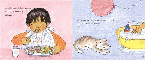 Mís cinco sentidos: My Five Senses (Spanish edition) (Let's-Read-and-Find-Out Science 1)