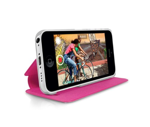 Orzly - Swift Stand Case pour Apple iPhone 5C - ROSE Solide Protecteur iPhone Etui / Housse avec Support Intégré pour Apple iPhone 5C - 2013 budget iPhone 5 modèle version (5C)
