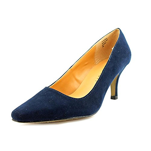 Karen Scott Clancy Women US 7.5 Blue Heels oZnGKrB