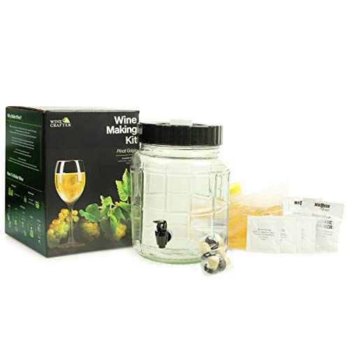 WineCrafter Pinot Grigio 1 Gallon Wine Making Kit