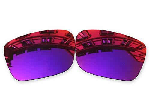 Vonxyz Lenses Replacement for Spy Optic Helm Sunglass - Midnight MirrorCoat Polarized (Lenses Spy Helm)