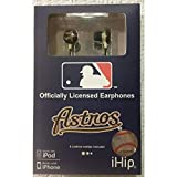 Best iHip Athletic Headphones - iHip MLF10169HOU MLB Houston Astros Printed Ear Buds Review