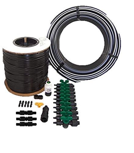 - Vegtable Garden Drip Jr. Kit - 10 Rows X 50 Ft- Watering Garden Drip Irrigation