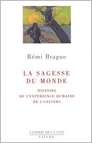 La Sagesse du monde - Rémi Brague