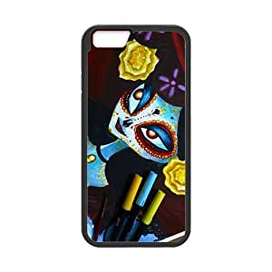 Classic Style Custom Silicone Hard Rubber Protector Case for iPhone6(4.7inch) - The Book of Life