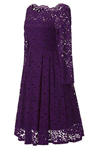 Gigileer - Vestido - vestido - para mujer morado