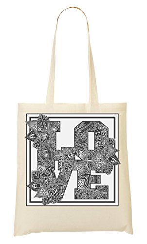Hipster Fourre Pattern Nature À Sac Phrases Leaf Sac Words Cool Tout Style Provisions 6EEn15x8q