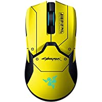 Razer Viper Ultimate with Charging Dock - Cyberpunk 2077 Edition, Ambidextrous Gaming Mouse with Razer Hyper Speed…