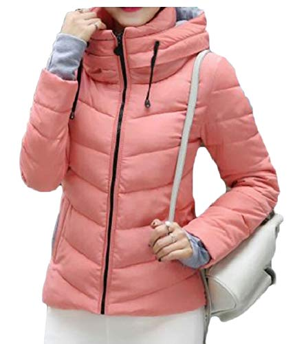 Coat Lightweight Ultra Pink Short Jackets security Hooded Women's Down Package Down pYwTSt