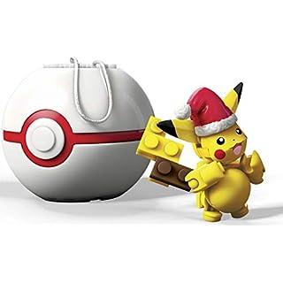 Mega Construx Pokemon Santa Pikachu Building Set