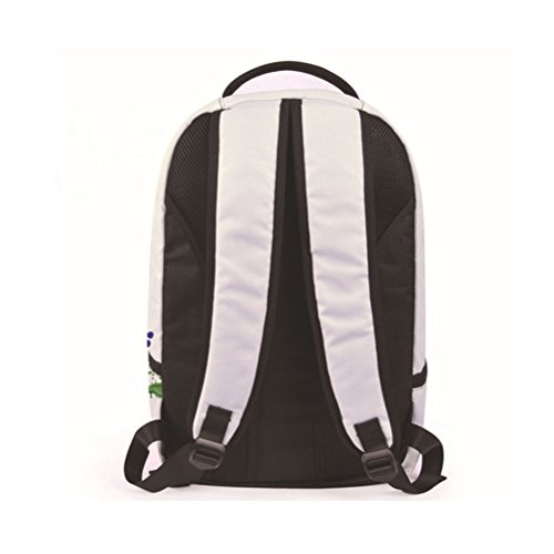 Oxford white Backpack Backpack Clown JYFG Men 3D bolso Computer white Casual Boys Printing de tela Mochila SqwvHZRq