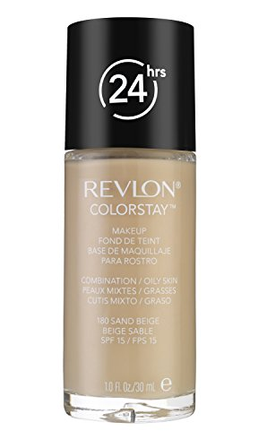 Revlon ColorStay Makeup Foundation für Mischhaut und ölige Haut SPF15 #180 Sand Beige 30ml
