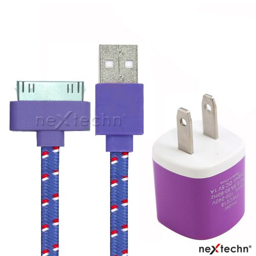Nextechn%C2%AE Purple Charger Braided Charging product image