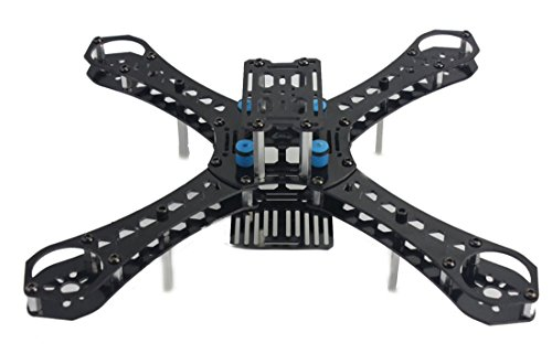 FCMODEL X4 M310L Wheelbase Glass Fiber Alien Across Mini Quadcopter Frame Kit DIY RC Multicopter FPV Drone by FCMODEL