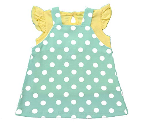 Clothe Funn Baby Girls' Pinafore Knee Length Dress