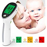 Non-Contact Digital Infrared Thermometer Termometro Portable Fever Temperature Gun Thermometre IR Device for a Baby, Child or Adult