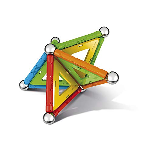 Geomag Confetti Magnetic Buildings and Educational Games with 32 Pieces