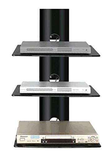 2xhome New Tv Wall Mount Bracket Single Arm Amp Three 3