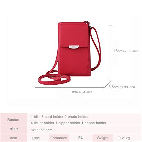 NYKKOLA bandoulière S red Sacs XGBAG plain femme zrnzqvHw