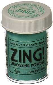 Zing! Opaque Embossing Powder 1-Ounce, Aqua